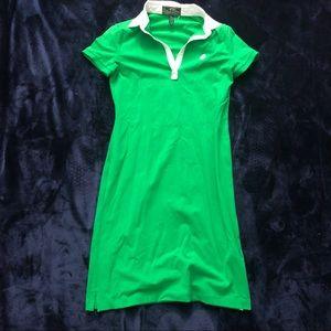 Green Ralph Lauren active sporty dress